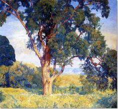 Daniel Garber - Old Tree in Chalfonte Painting