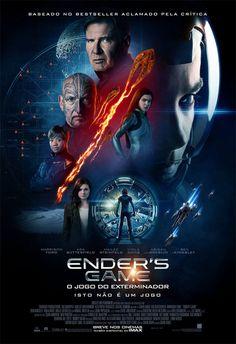 """""""Ender's Game – O Jogo do Exterminador"""" teve divulgado o cartaz nacional http://cinemabh.com/imagens/enders-game-o-jogo-do-exterminador-teve-divulgado-o-cartaz-nacional"""