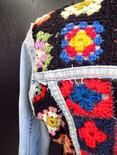 VMSomⒶ KOPPA: Sarjatuotteesta poikkeavaksi muokattu farkkutakki