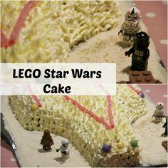 LEGO Star Wars Cake #LEGO #StarWars #BirthdayCake