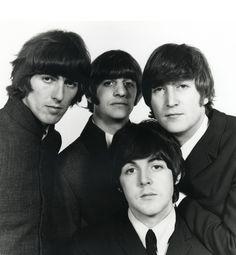 George Harrison, Richard Starkey, John Lennon, and Paul McCartney (Photographed by Robert Whitaker - Retronaut)