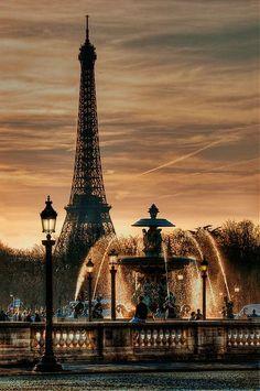 Fontaine Place de la Concorde with Eiffel Tower in the background ~ Paris, France Torre Eiffel Paris, Paris Eiffel Tower, Eiffel Towers, Concorde, Paris Travel, France Travel, Travel Plane, Usa Travel, Luxury Travel