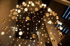 Beautiful lights at the W Atlanta Midtown