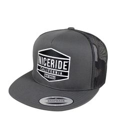 5c5c191676f 6006 Classic Snapback Trucker Hat with NICERIDE s