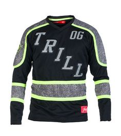 HUDSON Reflective jersey Long sleeves V neck design Neon detail Reflective lettering on front Stretch for comfort