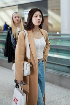 Kpop Outfits, Korean Outfits, Casual Outfits, Cute Outfits, Work Outfits, Fashion Idol, Kpop Fashion, Fashion Outfits, Korean Airport Fashion