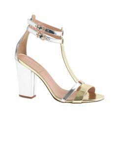 d06ad911042 J.Crew Mixed metallic gladiator high-heel sandals Prom Shoes