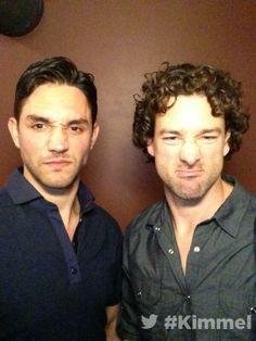 Martinez & Williams..His Hair!! Both Hotties. #GKG
