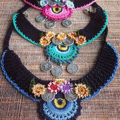 Crochet necklaces ☆