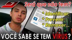 Descubra se seu Celular tem VÍRUS, como EVITAR e REMOVÊ-LOS (Android, Wi...