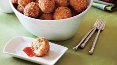 Bacon-Grits Fritters