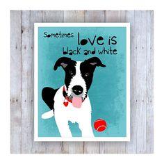 Irish Wolfhound Black and White Art Dog Art Dog by GoingPlaces2