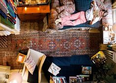 deitar no sofá e ler, quem não quer?