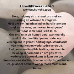 gebede vir troupaartjie - Google Search Marriage Prayer, Godly Marriage, Happy Marriage, Marriage Advice, Faith Hope Love, Faith In God, Messages For Friends, Afrikaanse Quotes, Inspirational Qoutes