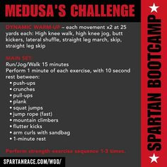 Spartan workout to kick my lazy, vegan junk-food-loving ass. Spartan workout to kick my lazy, vegan junk-food-loving ass. Spartan Race Training, Spartan Workout, Marathon Training, Workout Plans, Sparta Training, Obstacle Course Training, Obstacle Course Races, Spartan Challenge, Fitness Motivation