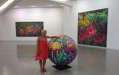 MAMAC Nice France, Karen Joubert Cordier Artworks , French American woman…