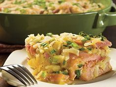 Ingredients  2   cups Smithfield Ham, diced 1   bag hash browns  1   cup cheddar cheese, shredded