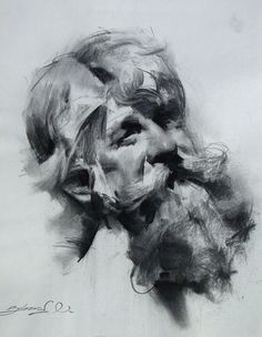 07-Zhaoming-Wu-Our-Essence-Captured-in-Charcoal-Portrait-Drawings-www-designstack-co.jpg (564×727)