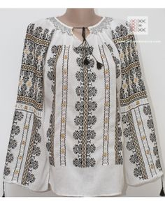 Here you can buy Romanian peasant blouses ie and folk costumes traditional clothes. Worldwide shipping for hand embroidered Romanian blouse dress Peasant Blouse, Blouse Dress, Folk Costume, Costumes, Folk Embroidery, Blouse Online, Traditional Outfits, Dress Collection, Bohemian Style