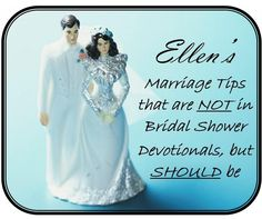 ellens marriage tips that are not in bridal shower devotionals but should be theq411