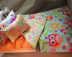 American Girl Doll Bedding Set