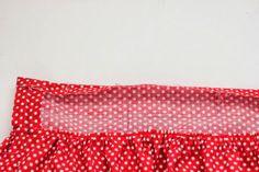 WIDI   Sewing blog   Step by Step instructions   Tutorials: Sew waistband - phus phus skirt