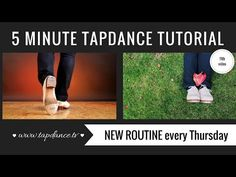 Tap Dance Tutorial - 11th video - 5 minutes - YouTube