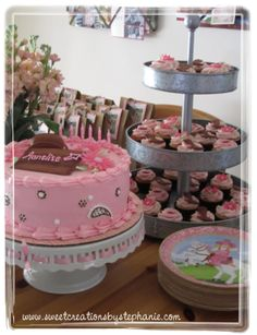 Cowgirl cake & cupcakes