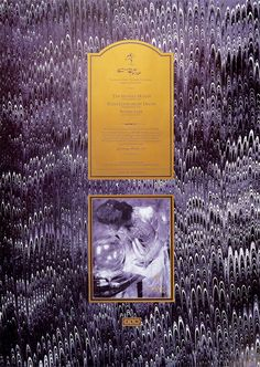 "The Cocteau Twins ""The Spangle Maker"" poster designed by Vaughan Oliver, 1985."
