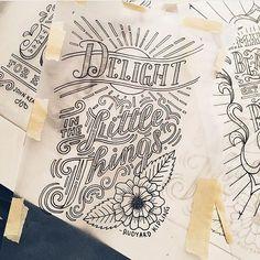 Great work by @lisalorek #designspiration #design #illustration #art #creative #lettering - View this Instagram https://www.instagram.com/Designspiration/