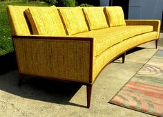 This is gorgeous.  I want one.  I'd decorate my entire house around this sofa.      McCobb Sofa