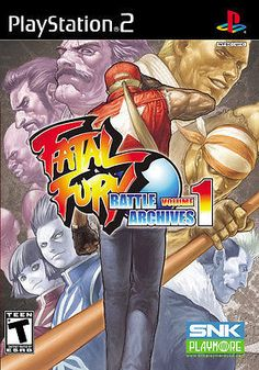 Fatal Fury: Battle Archives, Vol. 1 (Sony PlayStation 2, PS2, 2007) Complete #retro #gamers #fighting