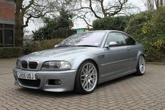 [E46] 2005 M3 CS - Silver Grey with Black Leather SOLD - The M3cutters - UK BMW M3 Group Forum E46 325i, E46 Touring, Bmw 328, Bavarian Motor Works, Custom Bmw, Cool Sports Cars, Bmw 3 Series, Bmw Cars, Cars And Motorcycles