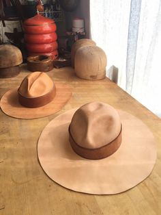 Custom Leather Hat | Calexico Leather Hat