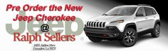 Are you ready for the newest edition to the Jeep family? The new Jeep Cherokee is coming soon and Ralph Sellers Chrysler Dodge Jeep Ram SRT near Baton Rouge Louisiana is now taking pre orders! The new Cherokee is available in 4 trim levels.  Sport, Limited, Latitude & Trailhawk.
