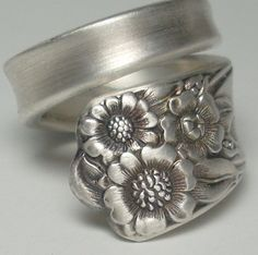 Sunflower Spoon Ring Spoon