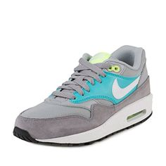 uk availability 4821e ea9a2 Nike Womens Air Max 1 Essential Wolf GreyWhiteStealth Running Shoe 9 Women  US     More info could be found at the image url.