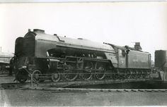 Railway Steam Photograph A1 60139 at Grantham in 1949 | eBay