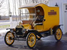 1912 Ford Model T Brass Era C Cab Delivery