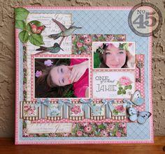 Botanical+Tea+Layout - Scrapbook.com