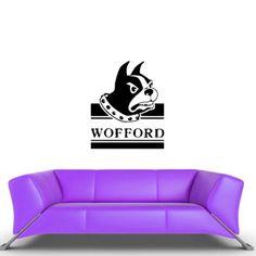 Ncaa Wall Vinyl Sticker Decal Gym Sports Team Logo Bulldog Wofford DA2427