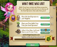 Sylphie and the Magic Tree Quests http://castlevillegamequests.com/