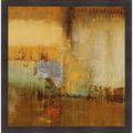 Sarah Stockstill 'Echo II' Framed Artwork | Overstock.com