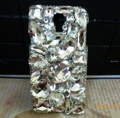 3D New Crystal Diamond Bling Hard Case Phone Cover for Samsung Galaxy S4 IV 9500 | eBay