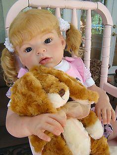 Reborn Arianna Toddler Baby Girl Sculpt by Reva Schick | eBay