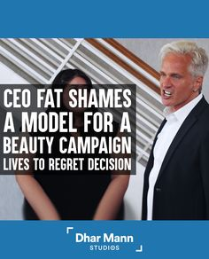 CEO Fat Shames Model In Beauty Campaign, He Lives To Regret His Decision | Dhar Mann. Being different is what makes you beautiful, embrace your differences. For more motivation videos, visit DharMann.com #DharMann