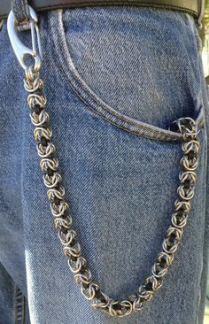 Hey, I found this really awesome Etsy listing at https://www.etsy.com/listing/208880741/wallet-chain-key-chain-chainmaille