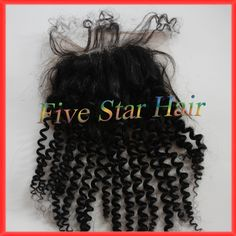 Find More Lace Closure Information about Cheap Real Unprocessed virgin Brazilian hair spiral curly closure Free part Natural balck lace closures with bleached knots,High Quality lace oxford,China lace closure piece Suppliers, Cheap lace closure hair pieces from Five star human hair products store  on Aliexpress.com