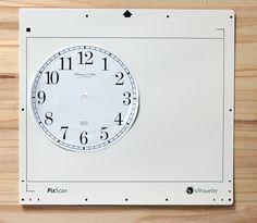PixScan Clock