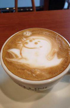 Seal Latte Art →follow← my board ♡ͦ* ¢σffєє σвѕєѕѕє∂ ♡ͦ* @ ★☆Danielle ✶ Beasy☆★